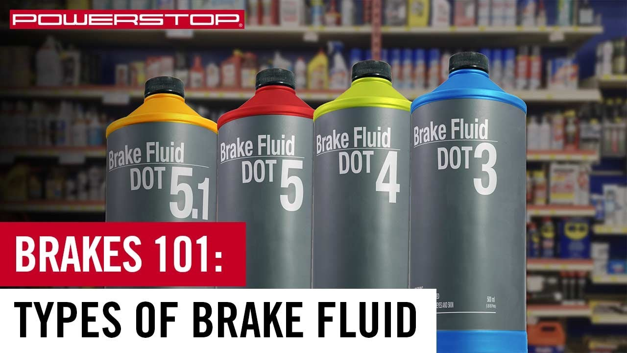 What Are The Different Types of Brake Fluid? - Power Stop