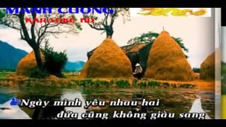karaoke ăn năn thiếu giọng nữ hát với tuanthanh