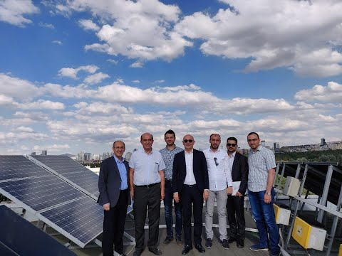 Scientific visit to #Solar Energy research center in #Middle_East_technical_university in Ankara