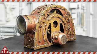Steampunk Energy Generator - Copper and Brass