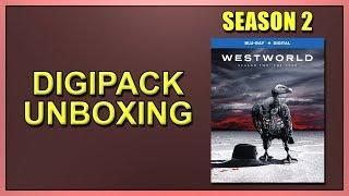 Westworld: Season 2 Blu-ray Digipack Unboxing