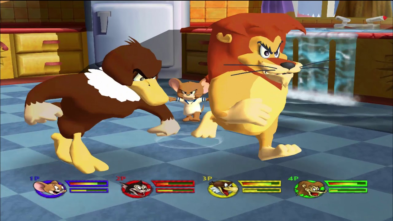Tom and Jerry Games Episodes 58 - Tom and Jerry in War of the Whiskers - Tom & Jerry Cartoon games