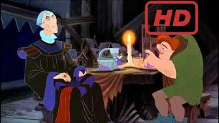 The Hunchback of Notre Dame - Frollo discovers that Quasimodo helped Esmeralda escape HD | Homer