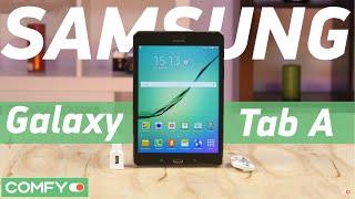 Samsung Galaxy Tab A 8.0 T355 4G - тонкий планшет среднего формата - Видеодемонстрация от Comfy.ua(Samsung Galaxy Tab A 8.0 T355 4G - планшет с тонким корпусом и телефонией. Таблет получил 8-дюймовый дисплей и 2 слота для..., 2016-02-10T14:05:39.000Z)