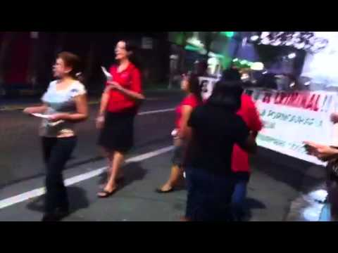 Piquete Red Zone, Santurce
