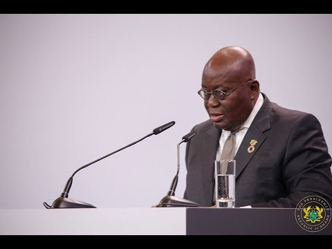 President Akufo-Addo addresses G-20 Africa Partnership Summit in Berlin
