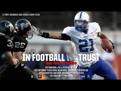IN FOOTBALL WE TRUST Documentary with Directors Tony Vainuku and Erika Cohn
