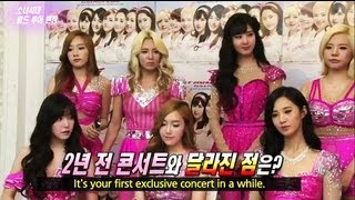 Entertainment Weekly - Girls' Generation is on their World Tour Concert! (2013.06.27)