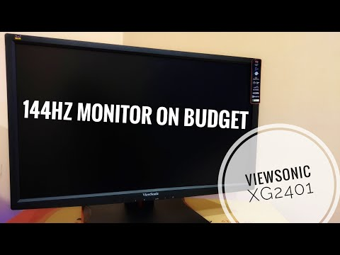 Viewsonic XG2401 144Hz Monitor Review | 1ms Response Time | Ideal for Gamers