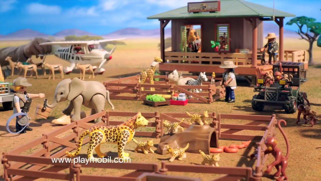 playmobil wild life de afrikaanse savanne 6936 6937 6938 dutch youtube. Black Bedroom Furniture Sets. Home Design Ideas