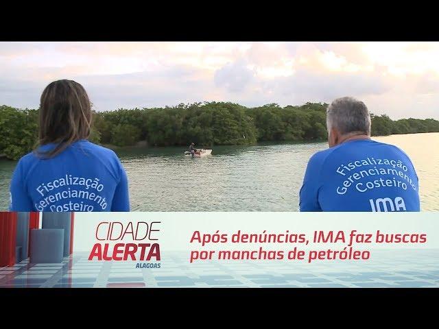 Após denúncias, IMA faz buscas por manchas de petróleo nas lagoas
