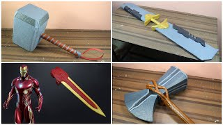4 Avengers: Endgame Weapons You Can Make At Home