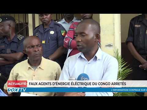 Faux agents d'énergie électrique du Congo arrêtés