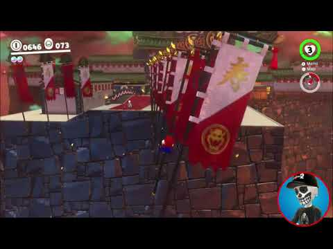 Super Mario Odyssey Guide Bowser S Kingdom Power Moon 52 Youtube