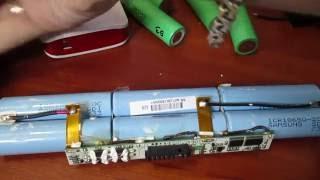 Ремонт батареи ноутбука, балансировка с помощью IMax B6 (часть 2)