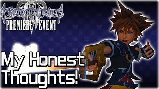 My Thoughts After Playing Kingdom Hearts 3 - Hands-On Impressions & Gameplay Analysis