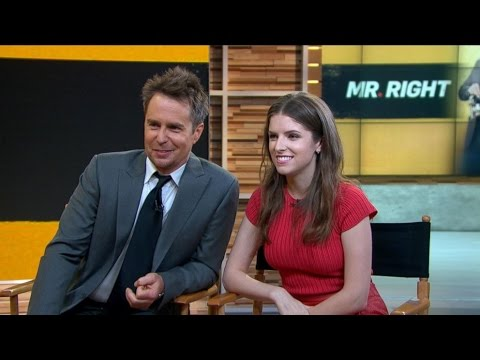 Anna Kendrick, Sam Rockwell Talk 'Mr. Right'
