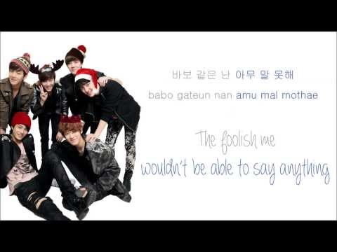 EXO-K - 첫 눈 (First Snow) (Color Coded...