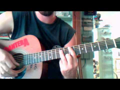 How To Play Staind Outside On Guitar Youtube