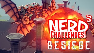 Nerd³ Challenges! The Wrong Flyer! - Besiege