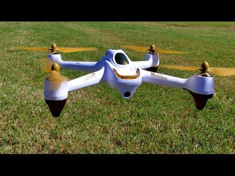 Квадракоптер Hubsan H501S X4 с HD камера FPV GPS и безчетков мотор 12