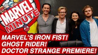 Marvel's Iron Fist! Doctor Strange Premiere! - Marvel Minute 2016