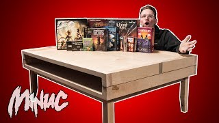 Building a Board Game Coffee Table