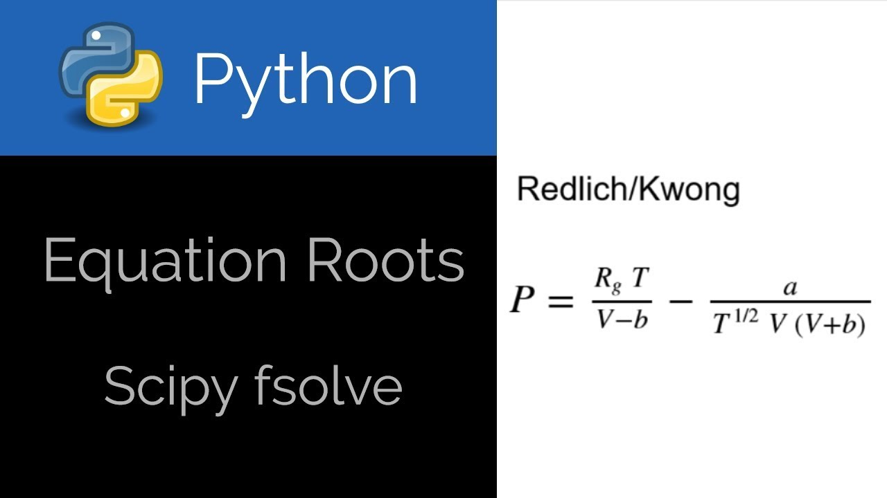 Python 🐍 Equation Roots with fsolve