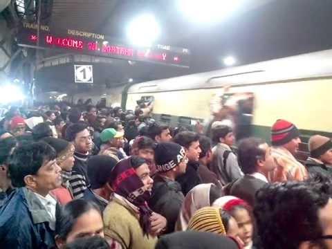 How to Catch a Train in Kolkata, India thumbnail