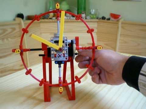 Lego Technic Clock Horloge Youtube