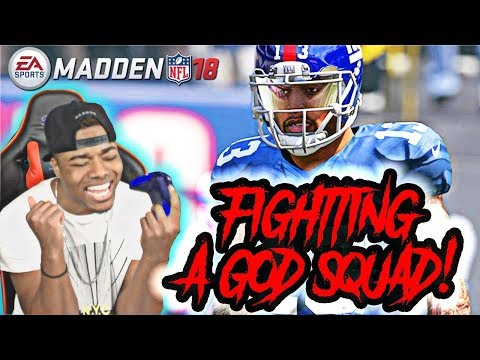 Legend QB Warren Moon Vs God Squad!   Madden 18 Ultimate Team Gameplay   MUT 18