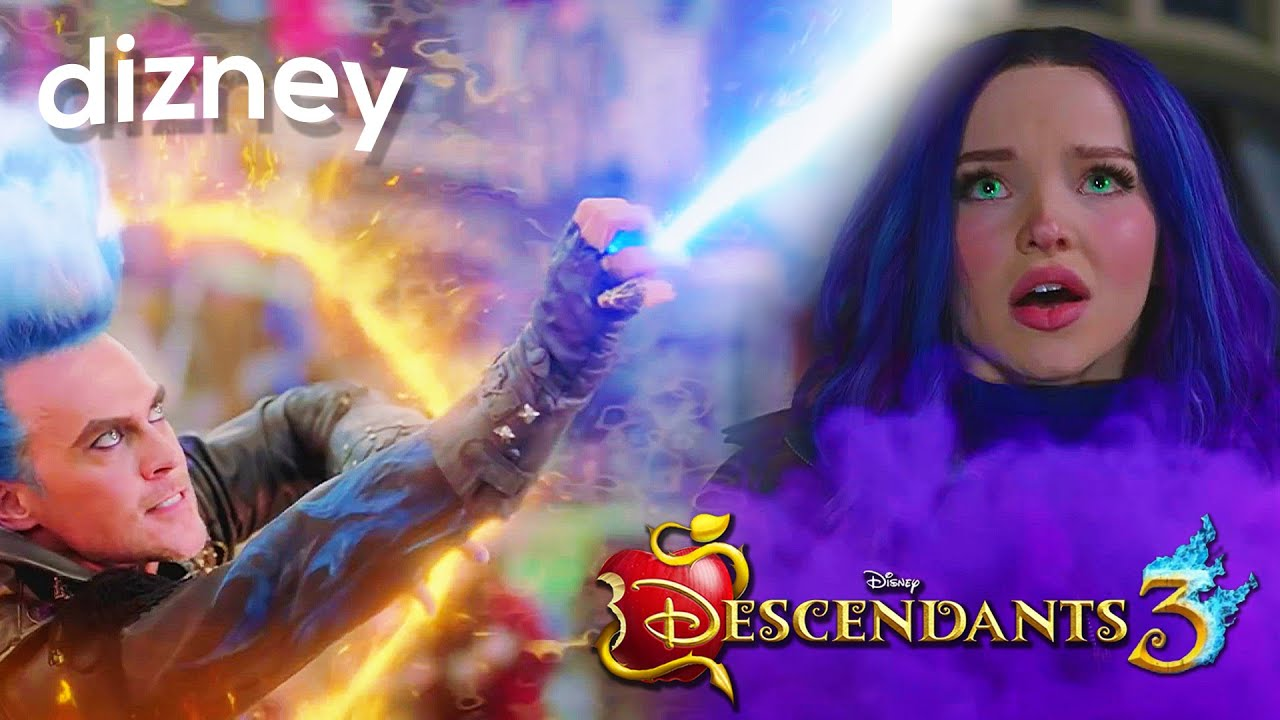 HADES STEALS MAL'S POWERS IN DESCENDANTS 3?! EXPLAINED