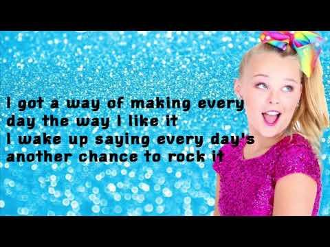 Jojo Siwa- High Top Shoes Lyrics