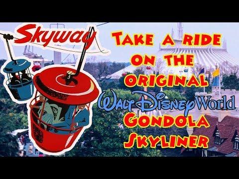 Walt Disney World Skyway The Original Gondola System Magic Kingdom
