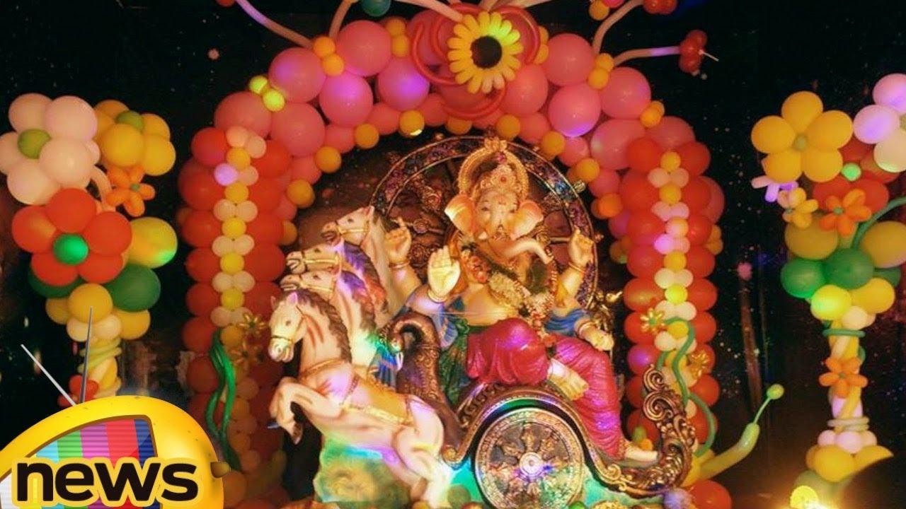 Ganesh Idol Decoration Ideas At Home Recycling Eco Friendly Ganesh Idol Mango News