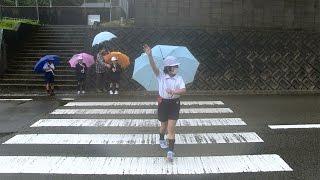 種子島の学校活動:納官小学校交通安全教室