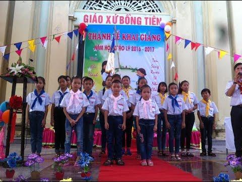 Trực tiếp khai giảng năm học mới lớp giáo lý 2017-2018 tại Giáo xứ Bồng Tiên - Gp Thái Bình