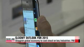 Sluggish global economy to cast cloud on Korea′s key industries in 2015: FKI   내