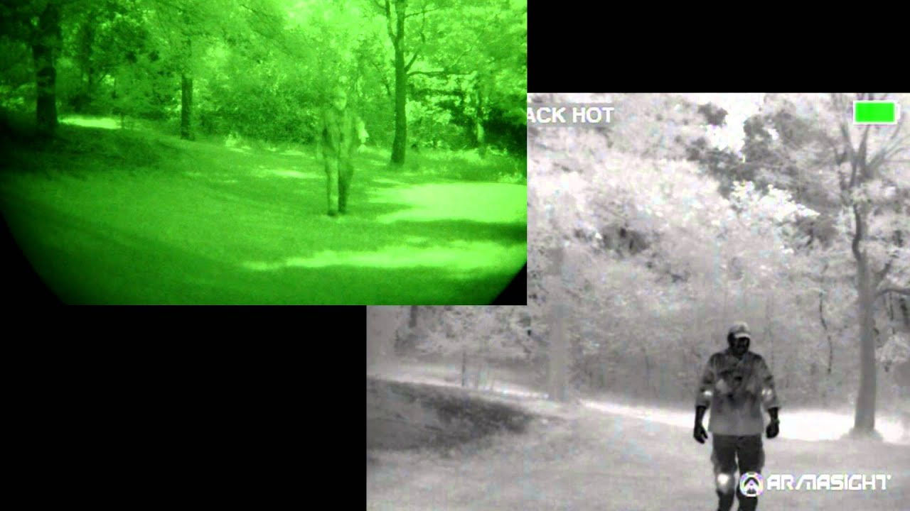 3rd gen night vision vs thermal youtube