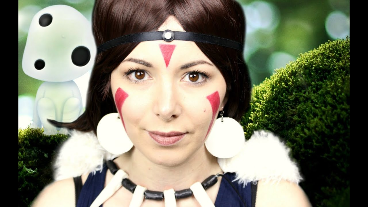 Princess Mononoke Mask Cosplay Tutorial Youtube
