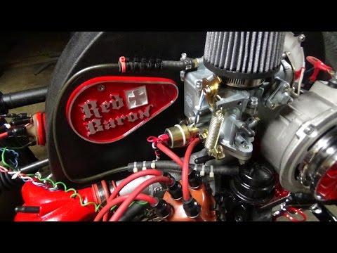 RB-VW Trike #93: Fan Belt from Don & Return of Mechanical Fuel Pump !