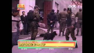 GASIFICACION EN LA UTOP @HOLA PAIS BOLIVIA