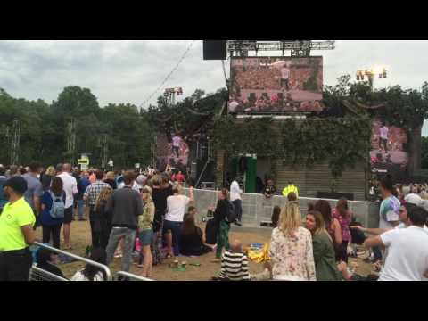 Olly Murs at British Summer Time Hyde Park Concert 2016