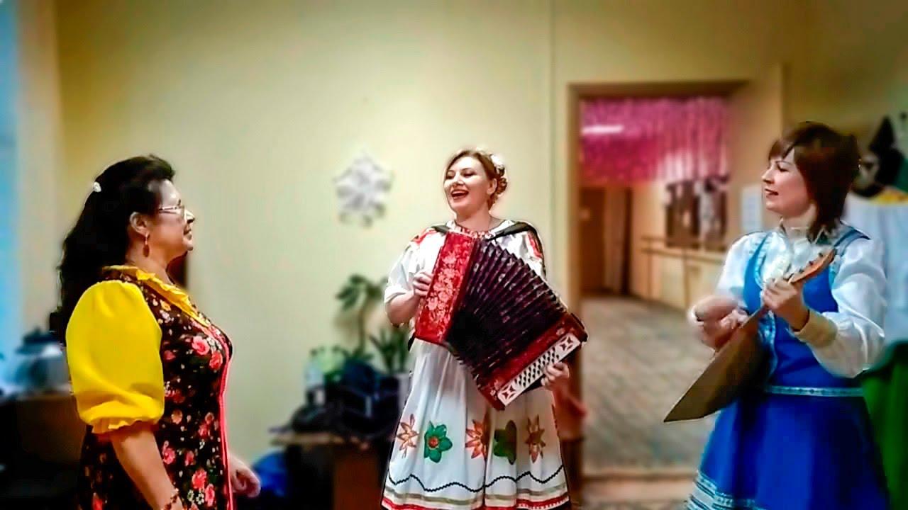 Весёлые частушки под гармошку и балалайку. Русские народные песни. Russian folk songs
