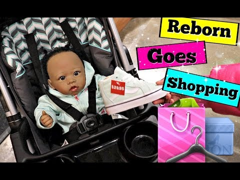 REBORN GOES SHOPPING AT THE MALL