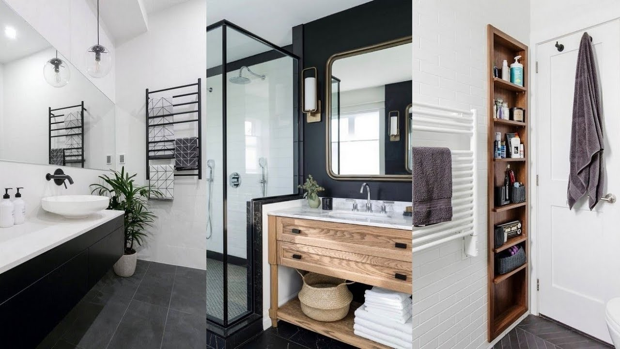 60 ELEGANT SMALL MASTER BATHROOM REMODEL IDEAS IN 2019 ... on Small Bathroom Remodel Ideas 2019  id=26950