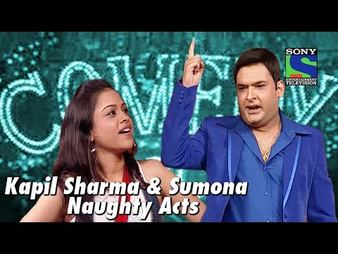 Kapil Sharma and Sumona's Naughty Acts | Comedy Circus