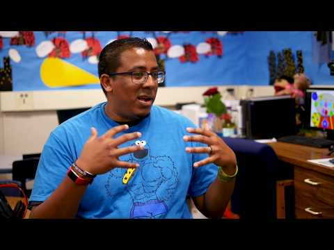Teacher Appreciation Week - Michael Hughes - Parkridge Elementary School