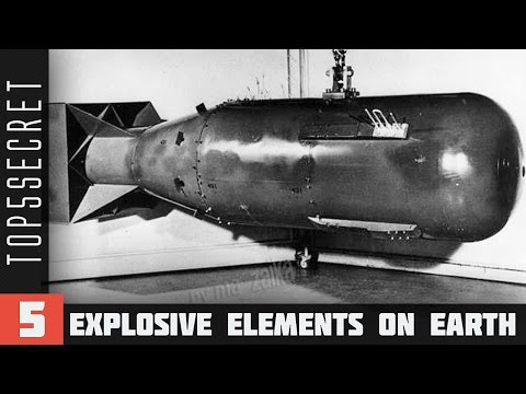 5 Most Explosive Elements on Earth