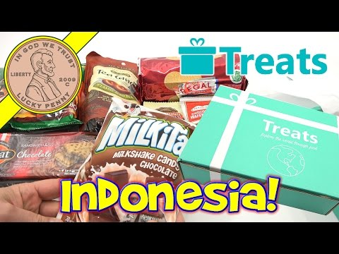 Try Treats Indonesia Candy & Food Monthly Subscription Snack